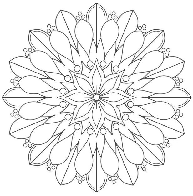 mandala 10 flor
