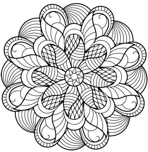 mandala 129 de flores