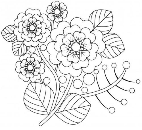 mandala 153 flores