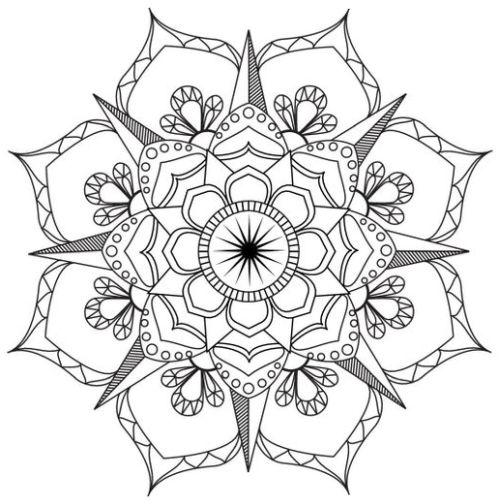mandala 161 flor