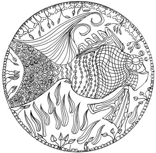 mandala 180 pez