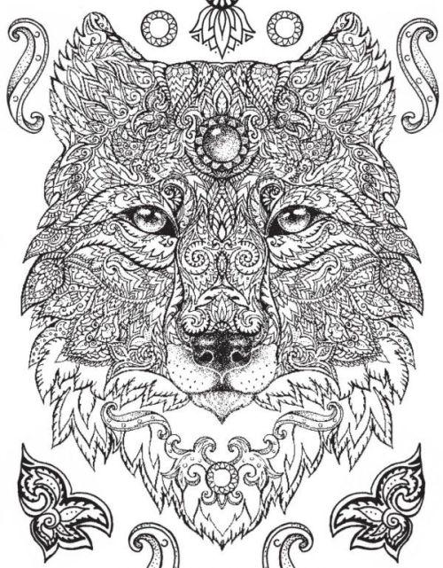 mandala 187 animal