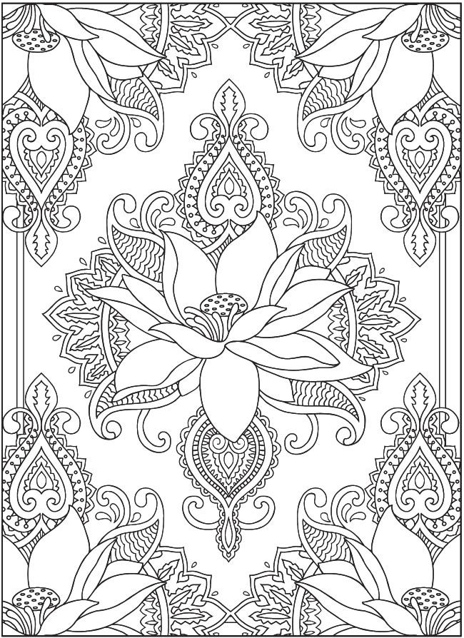 mandala 21 flores