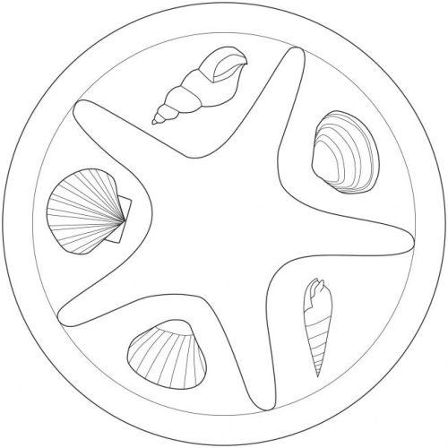 mandala 237 crustaceos