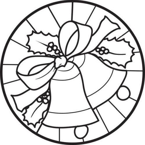 mandala 252 campana de navidad