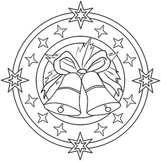 mandala 272 campanas de navidad