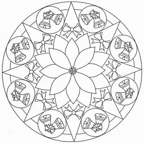 mandala 284 campanas de navidad
