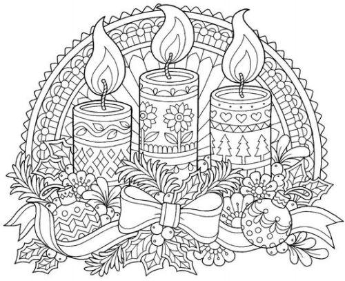 mandala 287 velas navidad