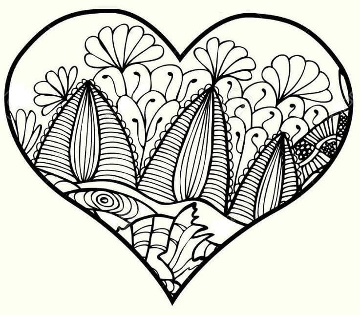 mandala 29 corazon