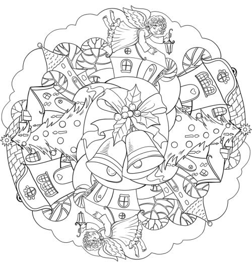 mandala 294 motivos navidenos
