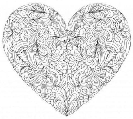 mandala 30 corazon