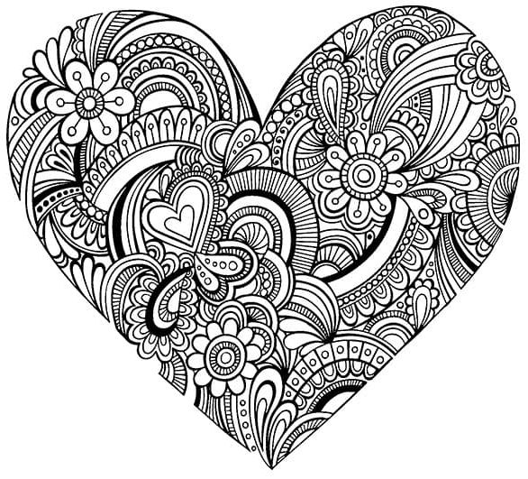 mandala 31 corazon