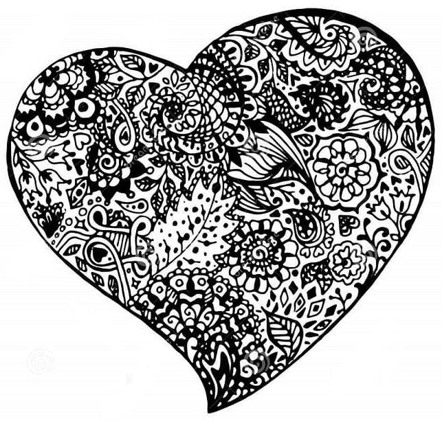 mandala 32 corazon