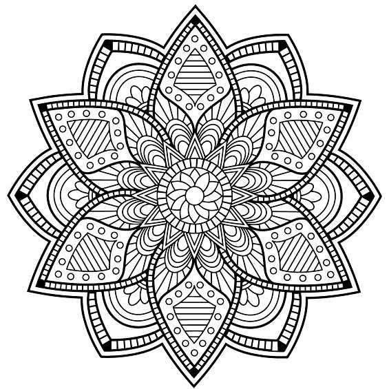 mandala 47 flor