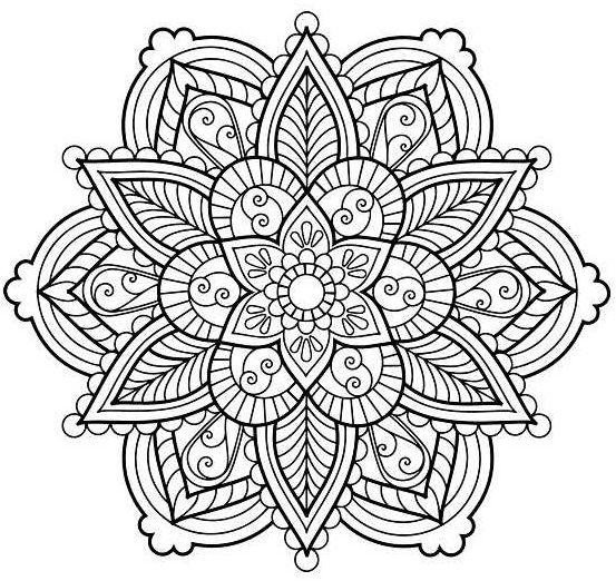 mandala 51 flor