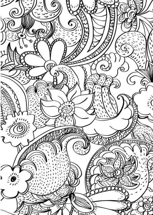 mandala 53 flores