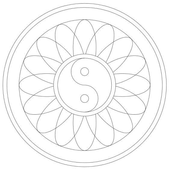 mandala 65 yin yang