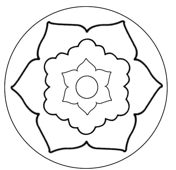 mandala 76 flor