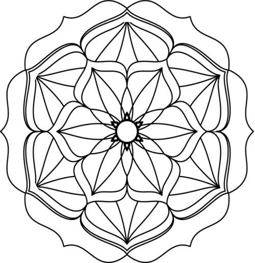 mandala 77 flor