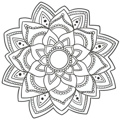 mandala 80 flor