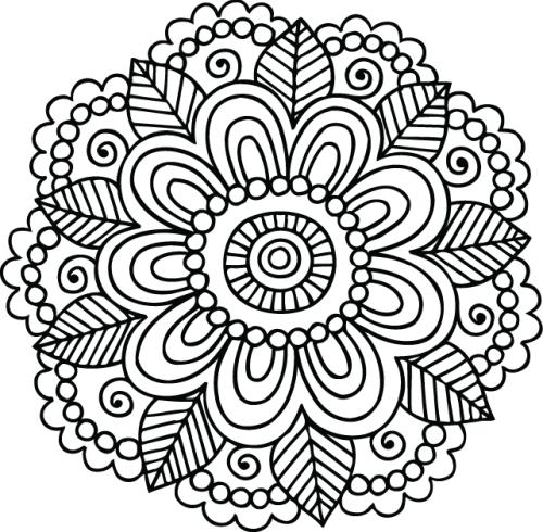 mandala 93 flor