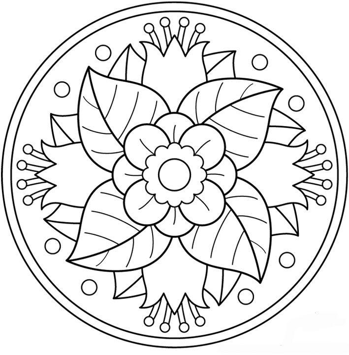 mandala 99 flor