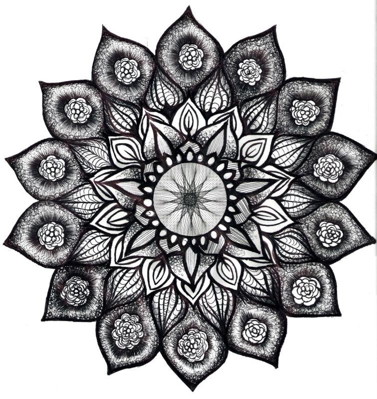 mandalas 16 de flores